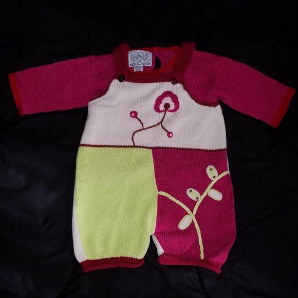 d54cd3d89 Zackali 4 Kids Matching Sets | Zackali4kids Fusciacreamgreen Knitted ...